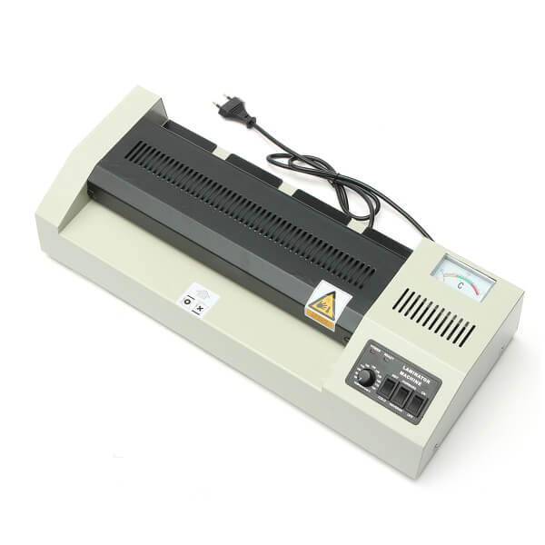 220V 600W A3 Laminating Laminator Machine Plastic Packaging Machine Four Rollers Hot Roll