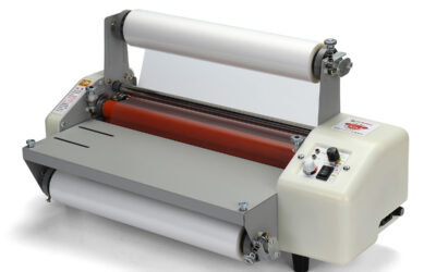 220V 12 Generation 8350T Laminator Four Rollers Hot Roll Laminating Machine A3+